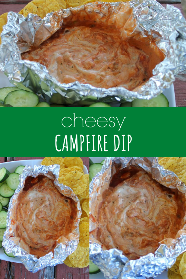 Cheesy Campfire Dip