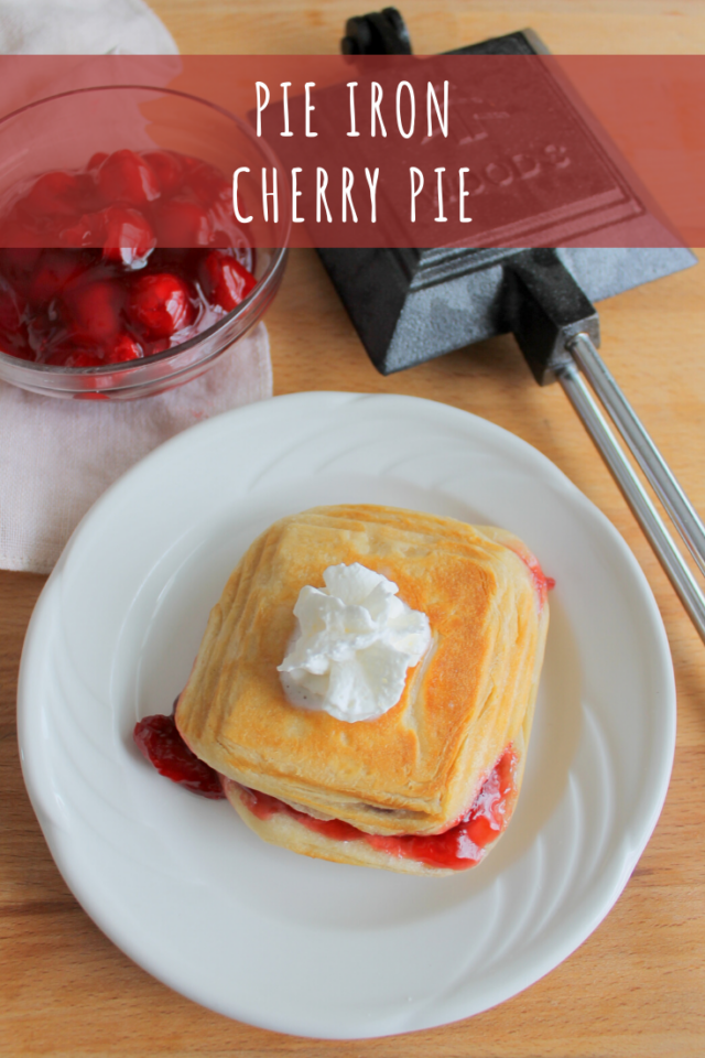 Pie Iron Cherry Pie