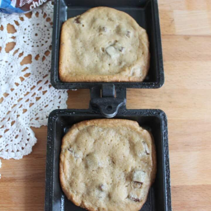 Pie Iron Cookies