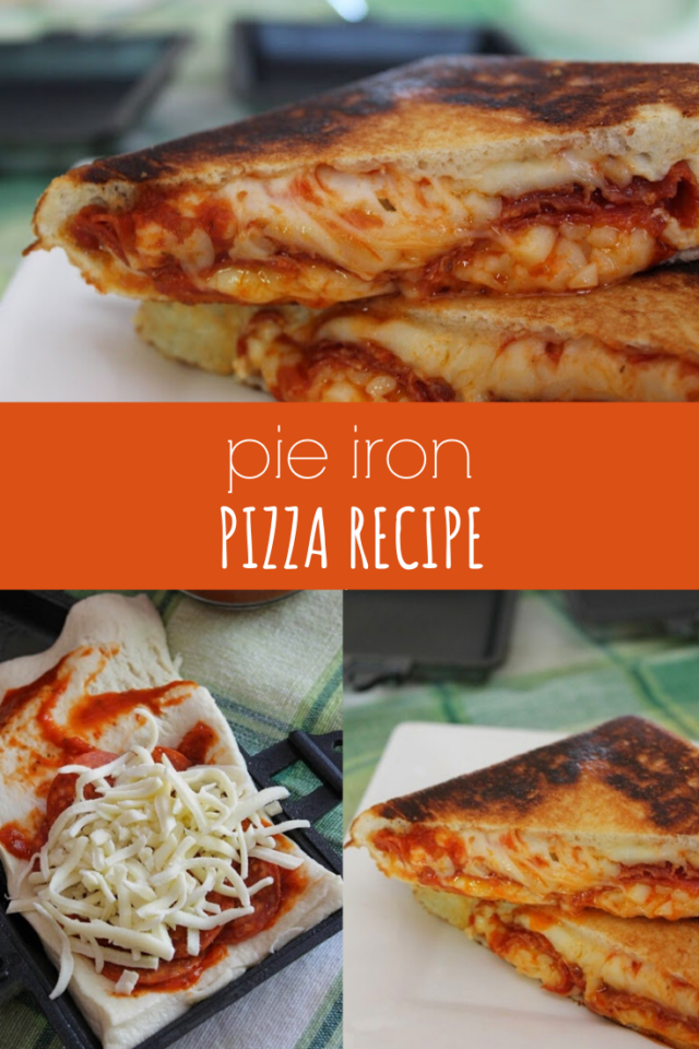 Pie Iron Pizza Recipe