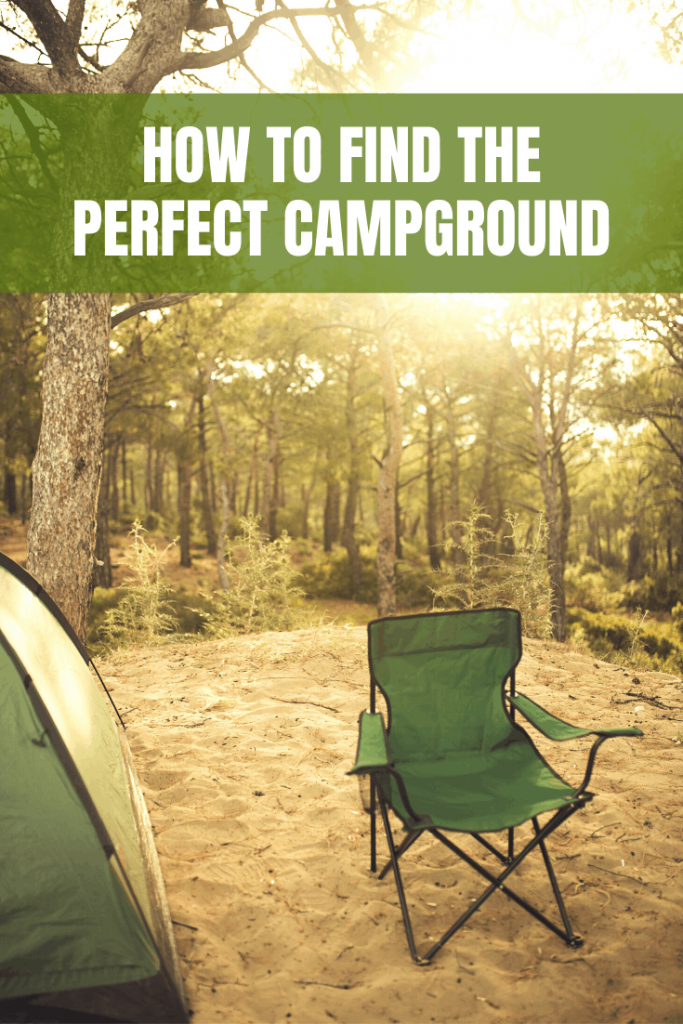 How to Find the Perfect Campground