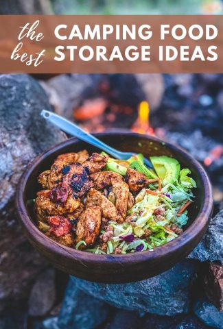 Camping Food Storage Ideas