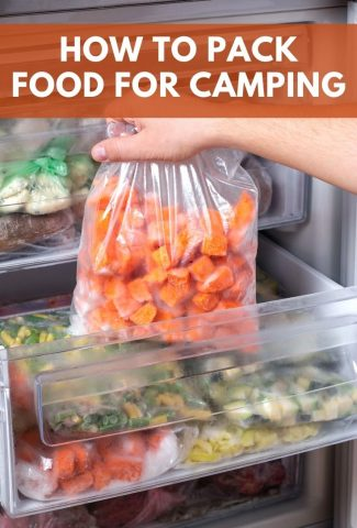 How to Pack Food for Camping