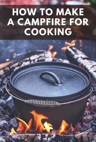Make a Campfire for Cooking