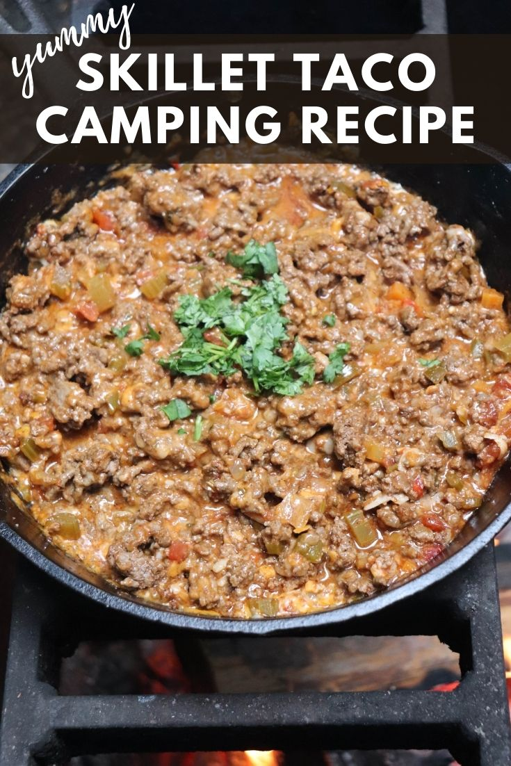 Skillet Taco Camping Recipe