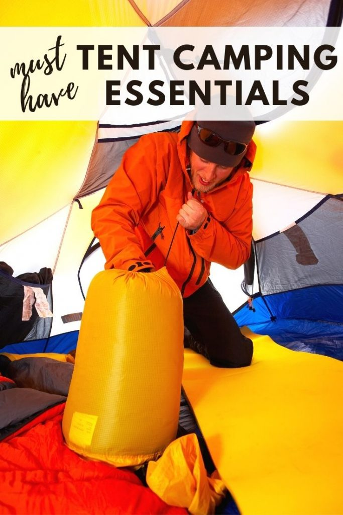 Must Have Tent Camping Essentials