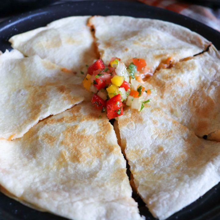 The Best Skillet Quesadilla Recipe