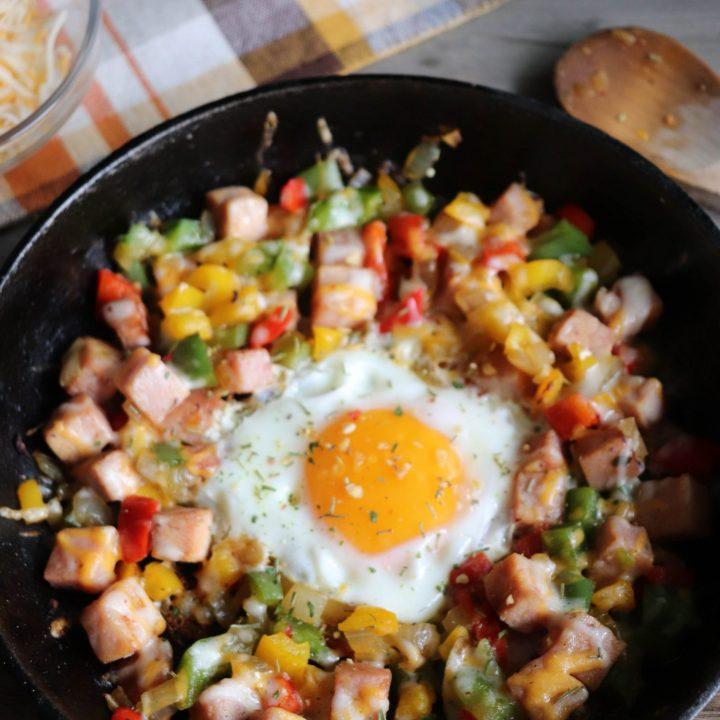 Campfire Breakfast Skillet Recipe