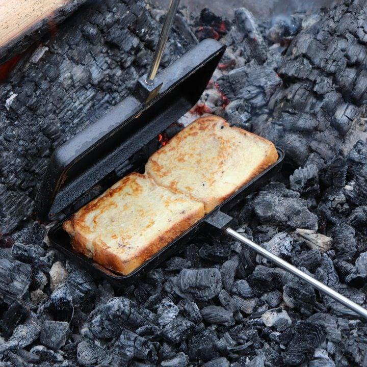 Pie Iron French Toast Recipe