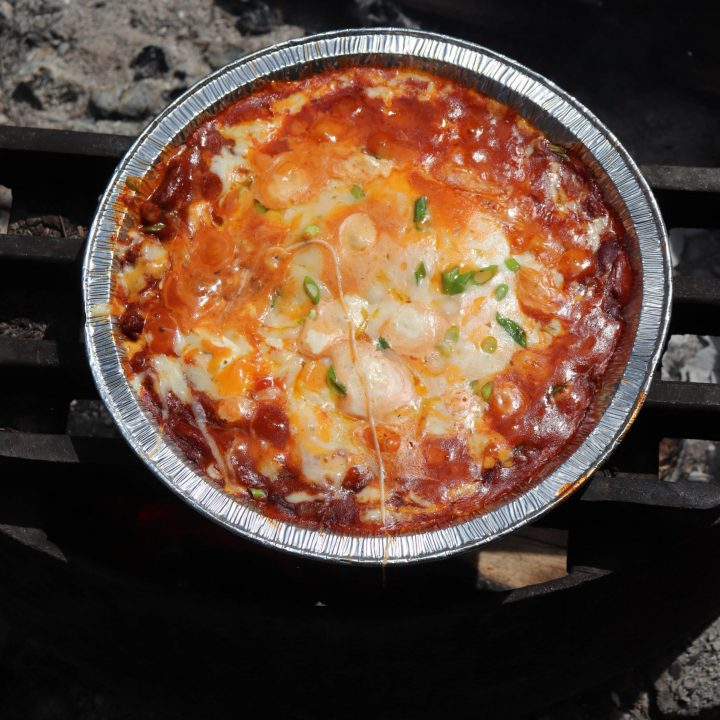 Yummy Campfire Chili Cheese Dip