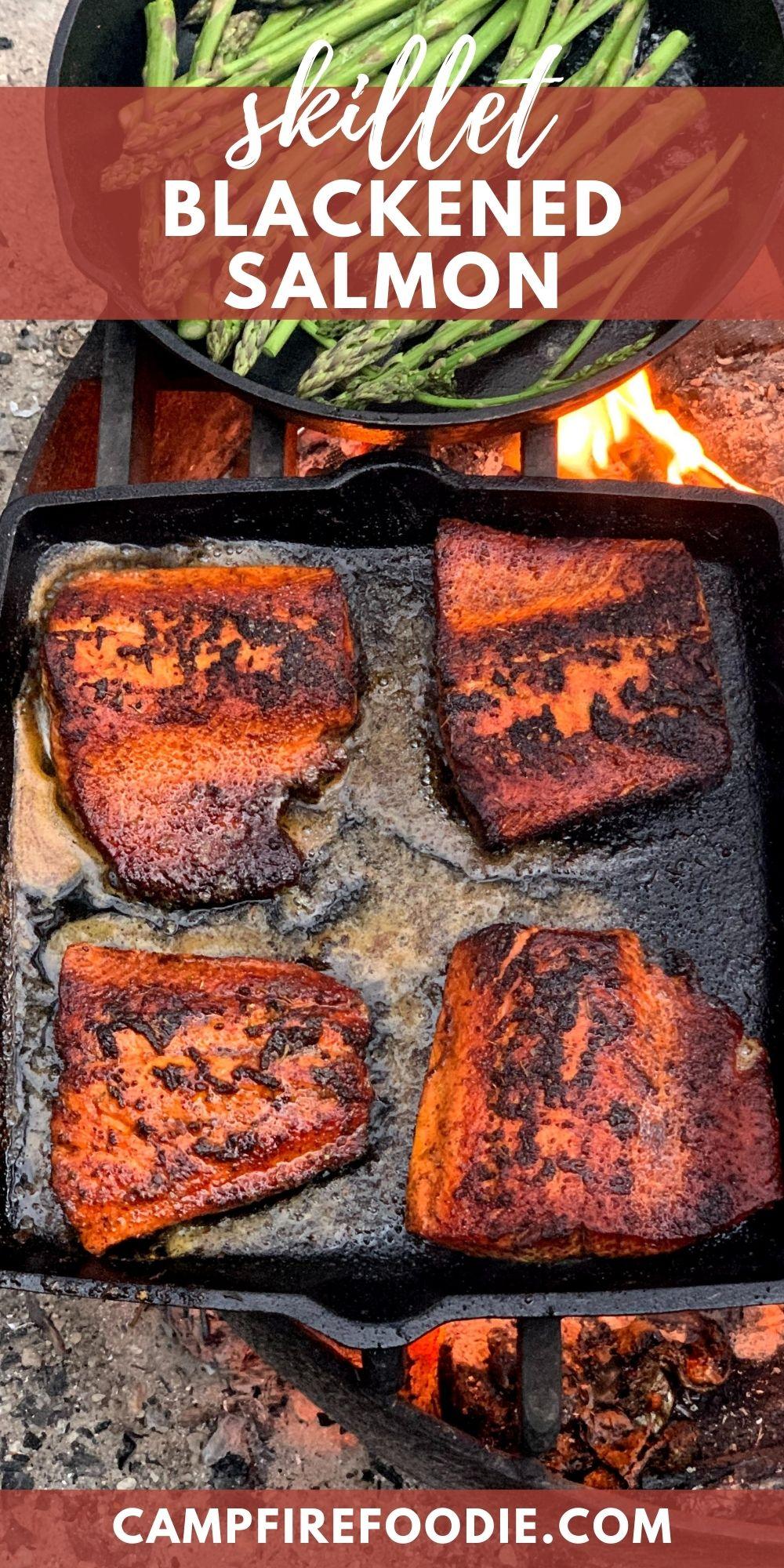 Skillet Blackened Salmon Recipe