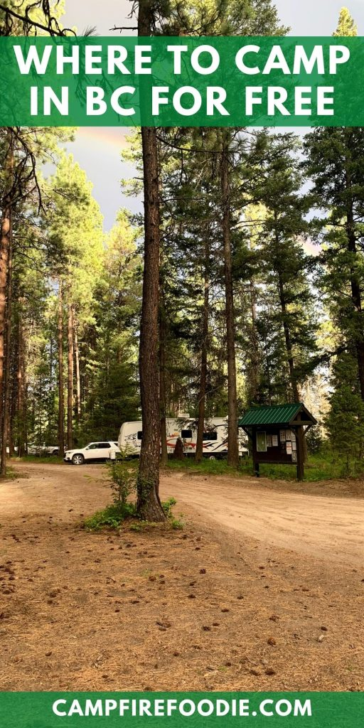 Where to Camp in BC for Free