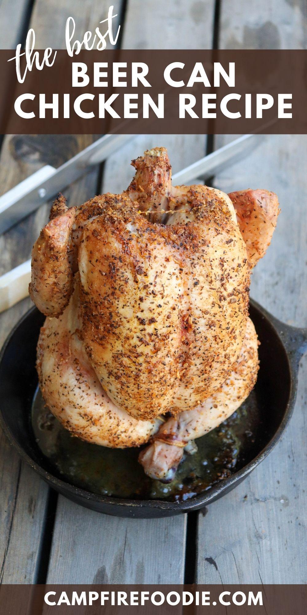 The best beer can chicken recipe
