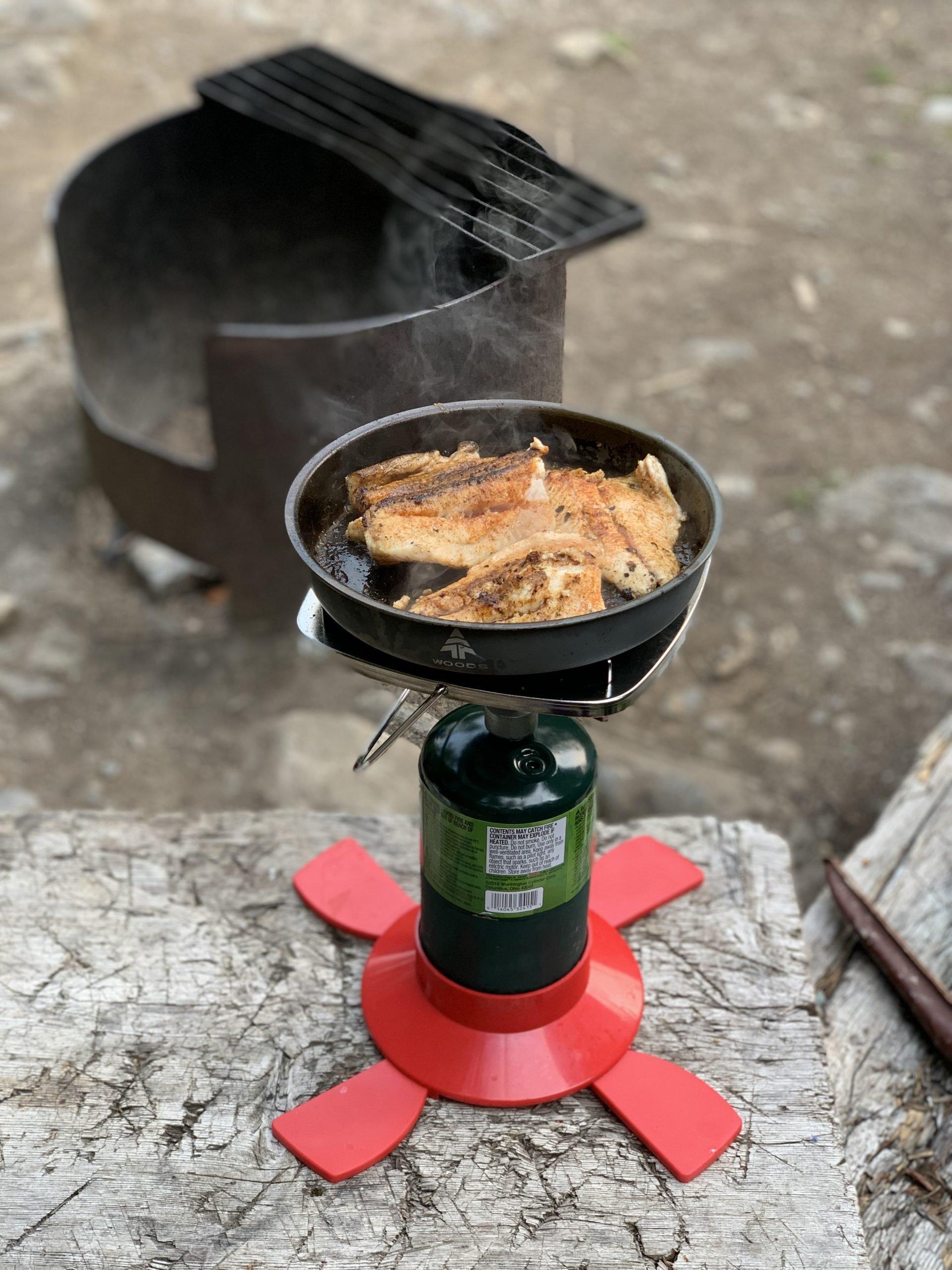 Camp Stove Fish Fry Recipe