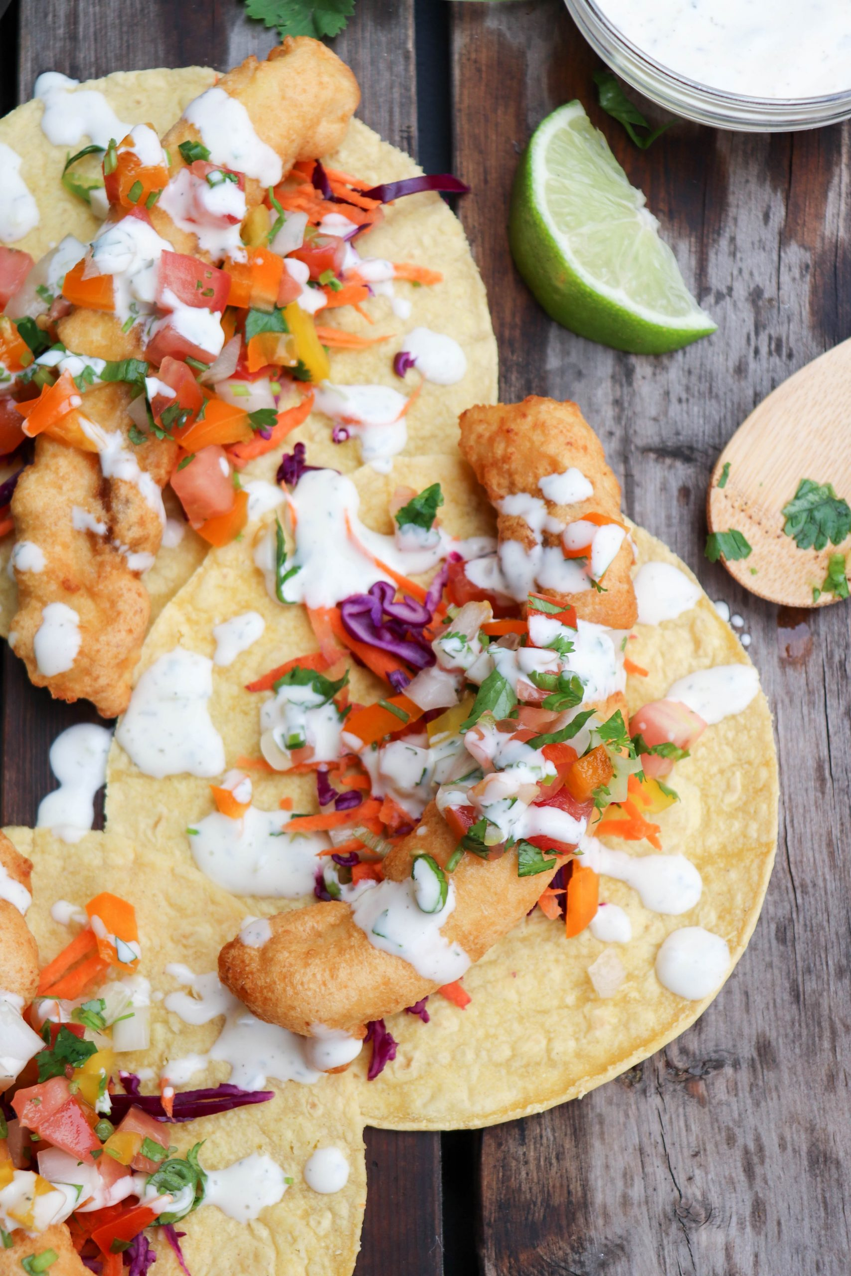The Best Halibut Fish Tacos