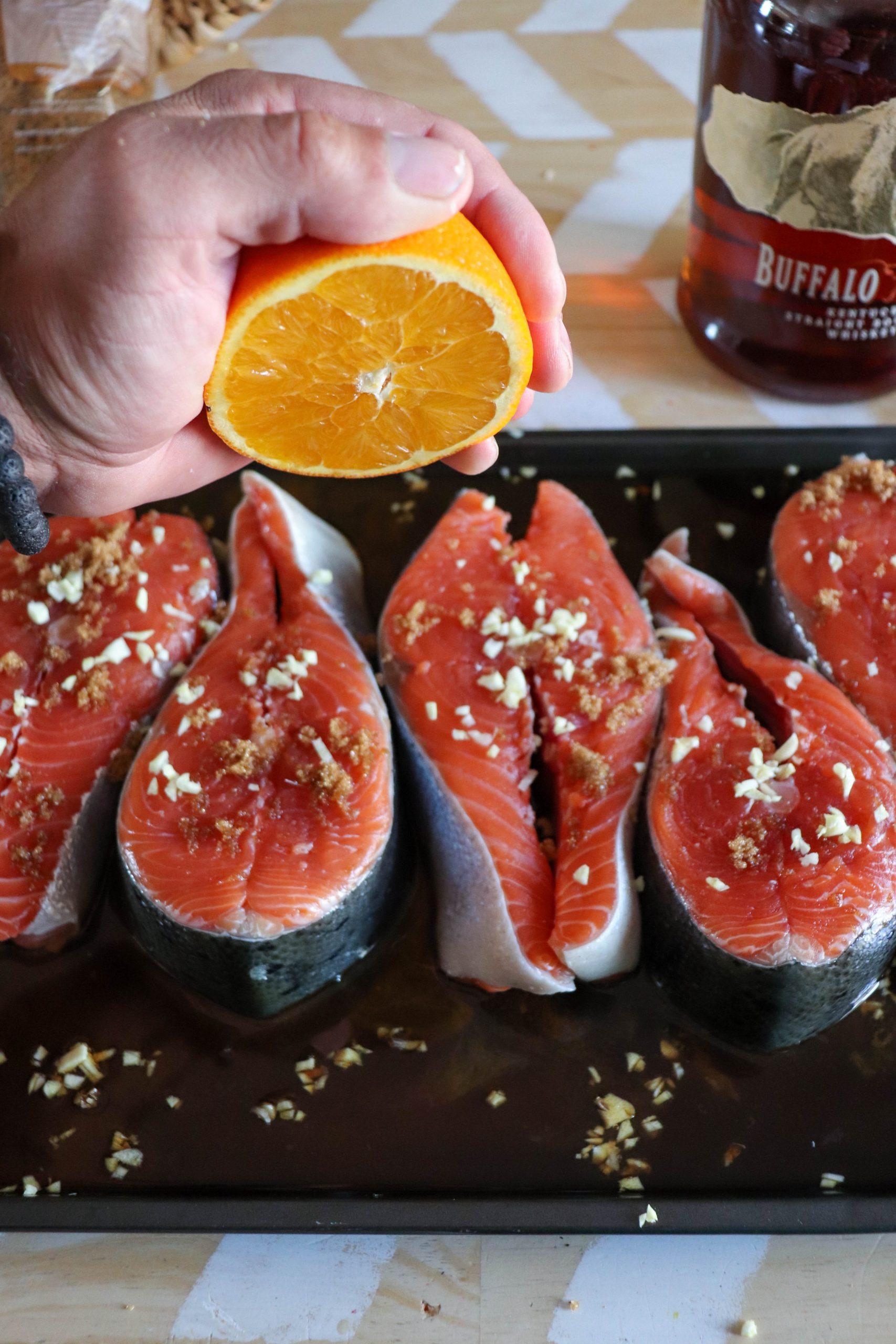 Grilled Salmon Steaks Recipe