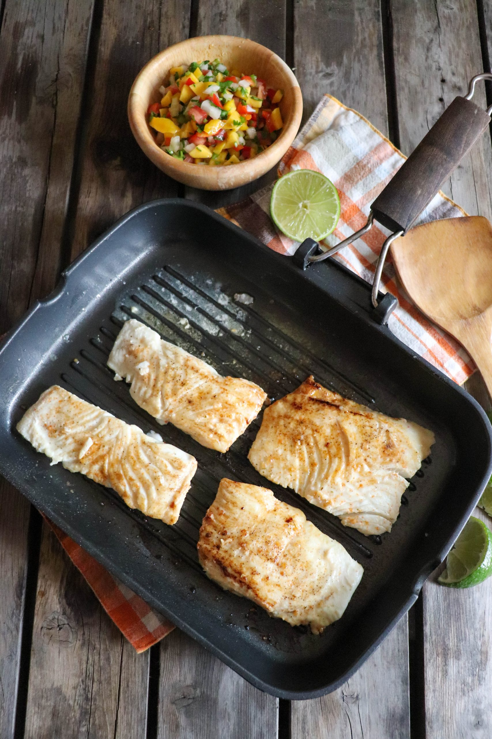 Grilled Halibut Recipe